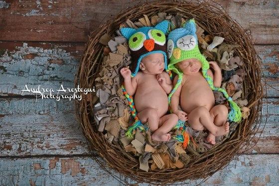 DIY Newborn Bird's Nest Prop
