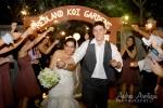 Sparklers wedding exit homestead fl redland koi gardens