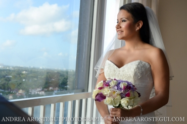 Miami Beach Resort and Spa Bridal Portrait