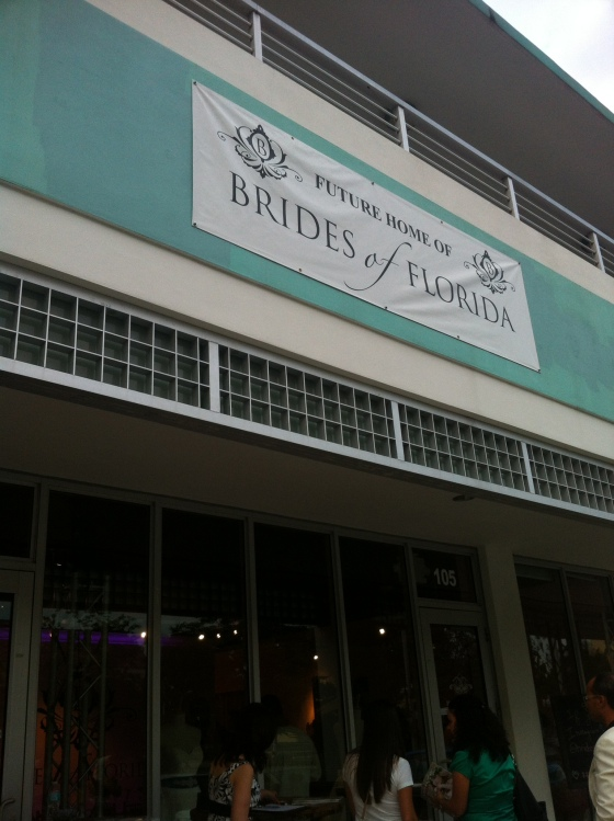 Brides of Florida new storefront in Kendall