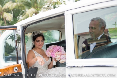 coral gables country club wedding church of the little flower
